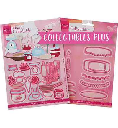 Marianne Design, Collectable Plus , Baking Fun - PA4129