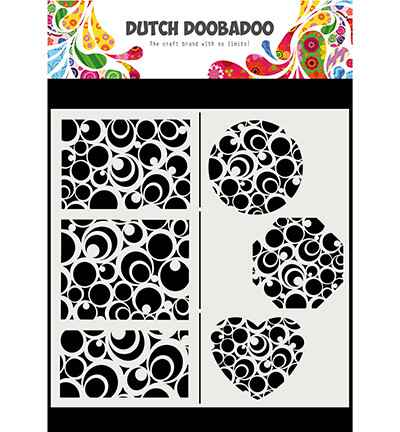 Dutch Doobadoo, Mask Art, Slimline Circles - 470.715.825
