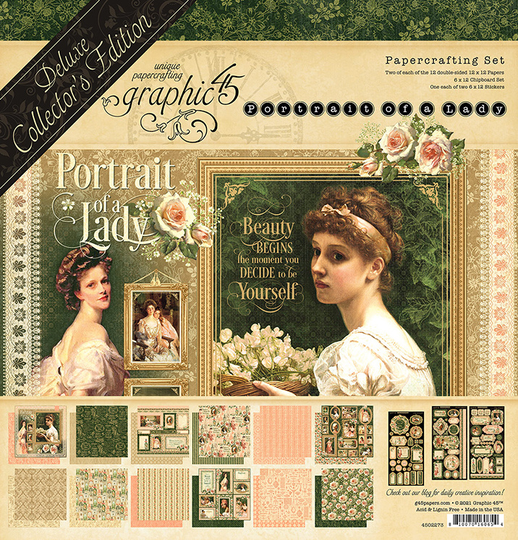 Graphic45, Portrait of a Lady, Deluxe Collector's Edition - 4502273