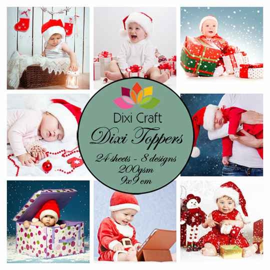 Dixi Craft, Toppers, Christmas Babies Color - ET0253