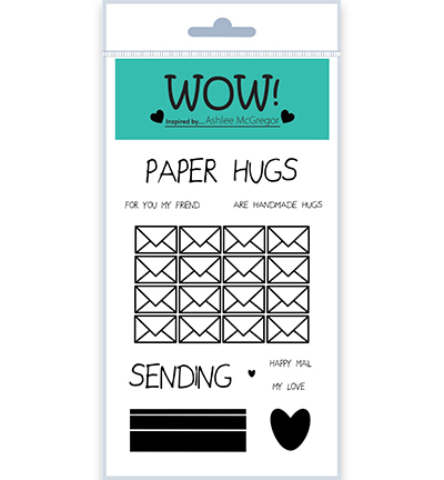 WOW, Clear Stamp, Paper Hugs - STAMPSET59