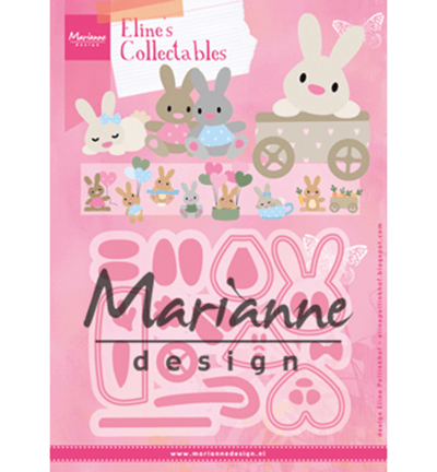 Marianne Design, Collectable , Eline's Baby Bunny  - COL1463