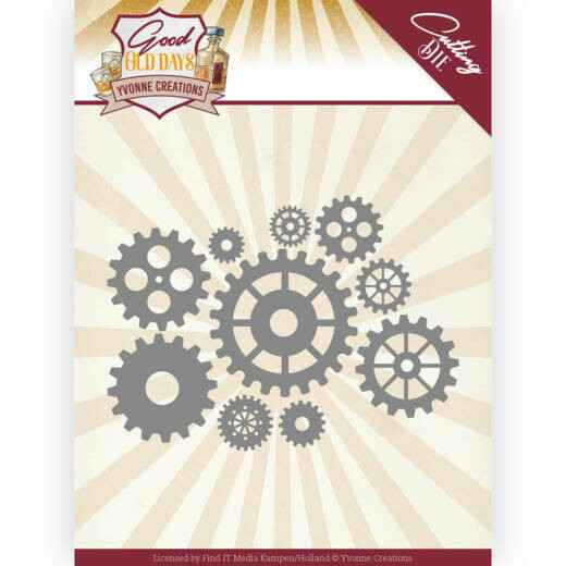 Yvonne Creations, Snijmal, Good old day's, Paddle Wheels -  YCD10222
