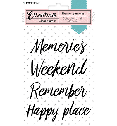 Studiolight, Clear Stamp, Planner Elements, Text Everyday - SL-PES-STAMP07