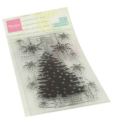 Marianne Design, Clear Stamp, Christmas Tree - MM1634