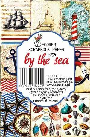 Decorer, Paperpack, By the Sea , 7 x 10,8 cm - DECOR-M26