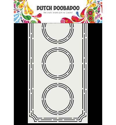 Dutch Doobadoo, Card Art, Slimline Ticket - 470.713.855