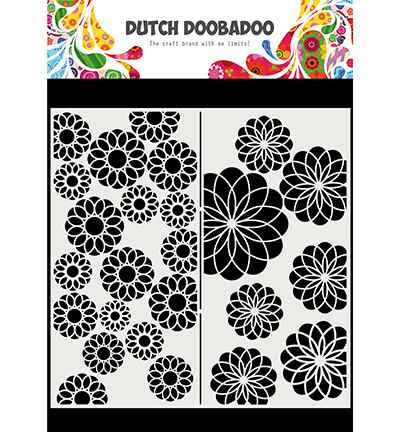 Dutch Doobadoo, Mask Art, Slimline Flowers - 470.715.823