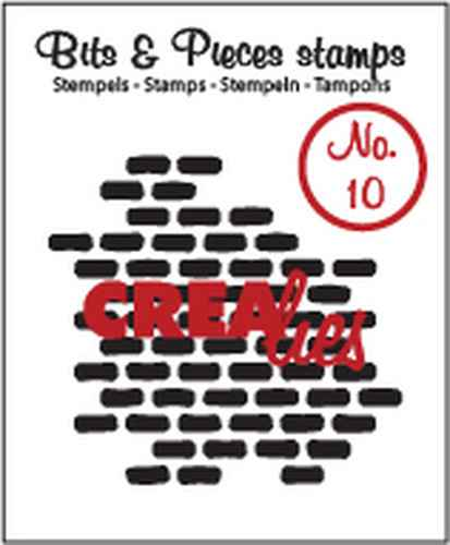 Crealies, Clear Stamp, Bits & Pieces, Stones - CLBP10