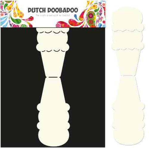 Dutch Doobadoo, Card Art, Ice Cream - 470.713.581