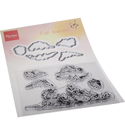 Marianne Design, Clear Stamp + Die, Tiny's fall leaves - TC0885