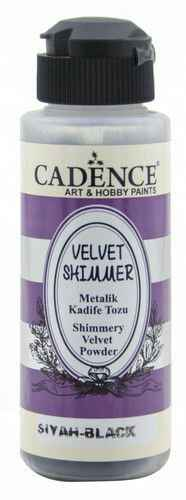 Cadence, Velvet Shimmer Powder, Black