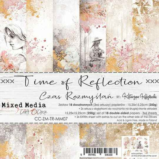 Craft O Clock, Paperpad, Time of Reflection , 15,25 x 15,25 cm