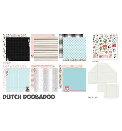 Dutch Doobadoo, Crafty Kit XL, Spring Scrapbook - 473.005.002