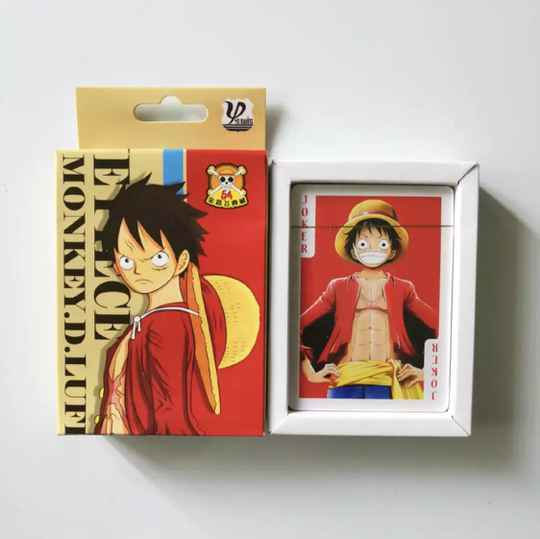 One piece Pokerkaarten