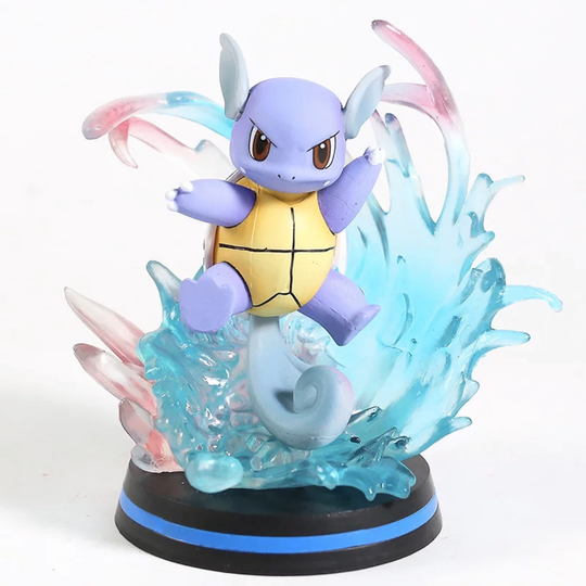 Pokemon Wartortle evolution van Squirtle gedaiteerd  figure 12 cm