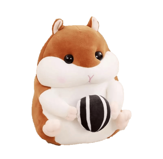 Cute Seed Hamster | Plushy Knuffel | Brown | 30 cm