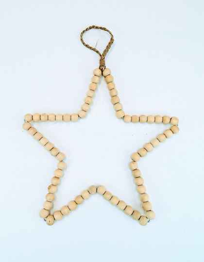Ster beads natural