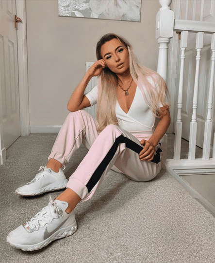 ISLA JOGGING TROUSERS PINK