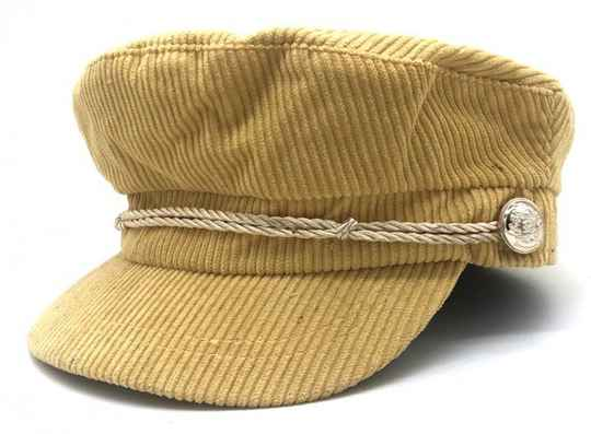 Captains cap - Geel