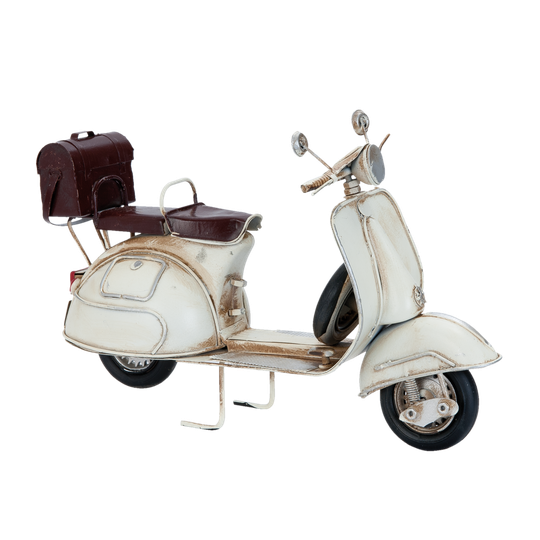 Decoratie model scooter