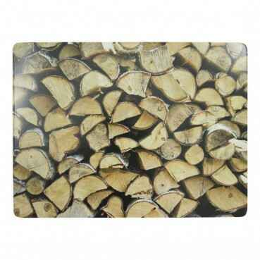 Luxe Placemats open haard hout 4*