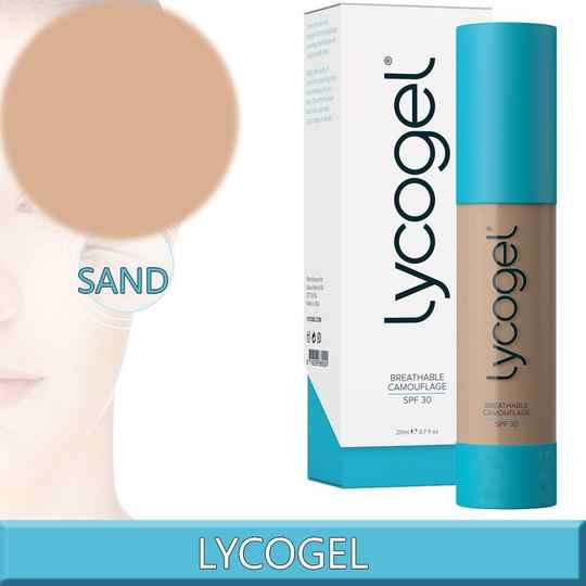 Lycogel Breathable Camouflage Sand