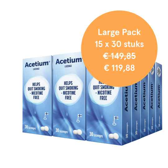 Large Pack - 15 x 30 zuigtabletten
