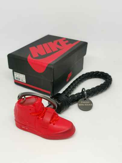 """Nike """"yeezy red october"""" keychain"""