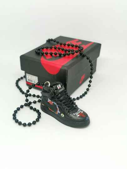 Supreme x nba x Air Force 1 mid 07 necklace