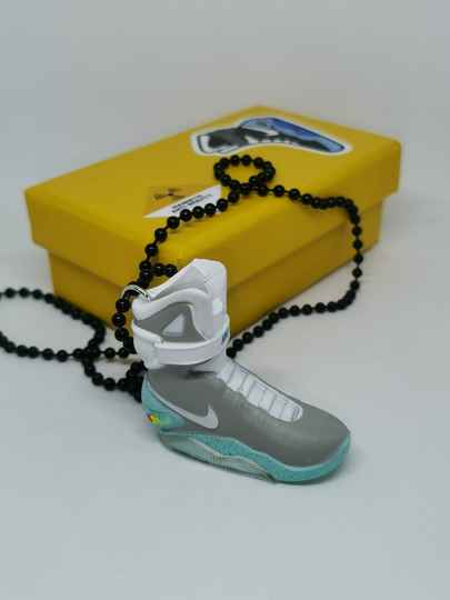 """Nike Air Mags """"Back to the future"""" necklace"""