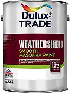 Dulux Trade Weathershield Smooth Masonry Paint White