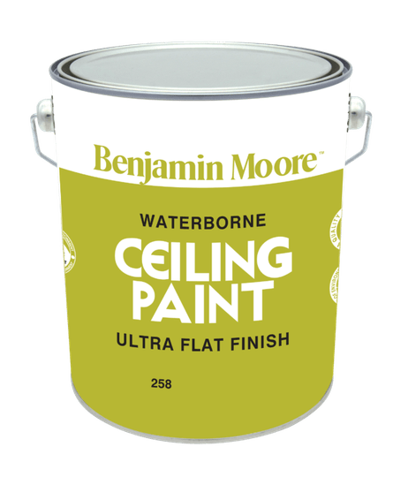 Ceiling Paint White - Ultra Flat Finish 258