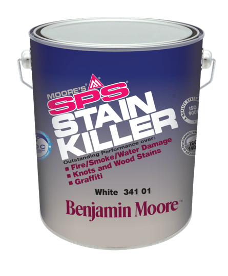 MOORE'S® SPS Stain Killer Primer  For interior / Exterior Use 341 White