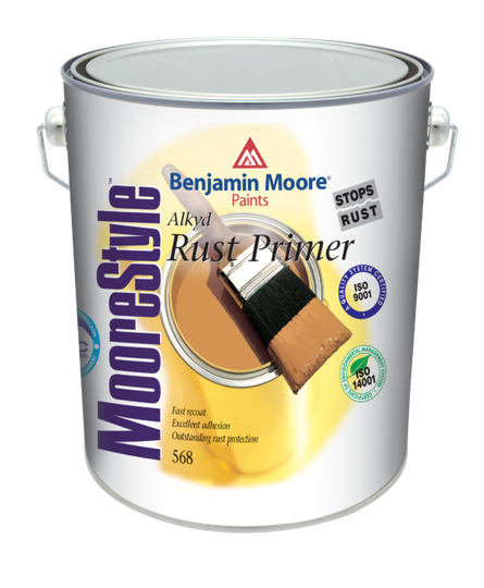 MOORESTYLE™ Rust Primer 568 White