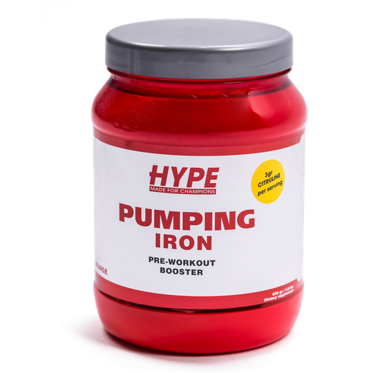 Pumping Iron - Pre Workout Hype Nutrition