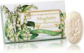 Fiorentino 3x100g Ovale zeep - LILY OF THE VALLEY