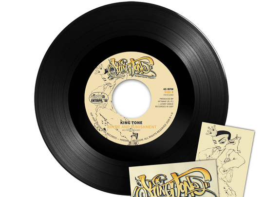 """HHE049 / King Tone - Victims of da Streets 7"""" (Produced By Aftamaf)"""