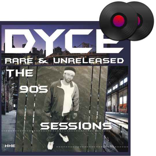 HHE013 / DYCE - Rare & Unreleased (The 90's Sessions) 2xLP (Black Vinyl)