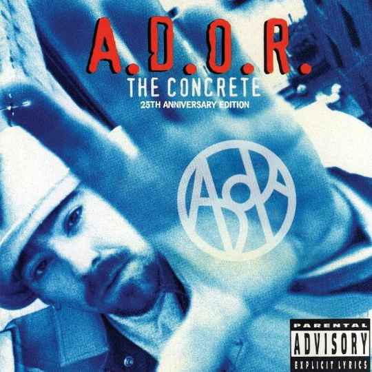HHE023 / A.D.O.R. - The Concrete (25th Anniversary Edition) 2XLP TRIFOLD EDITION