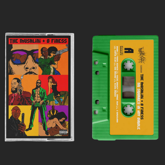 ILL017 /  The Musalini x O Finess - No Squares In My Circle Cassette