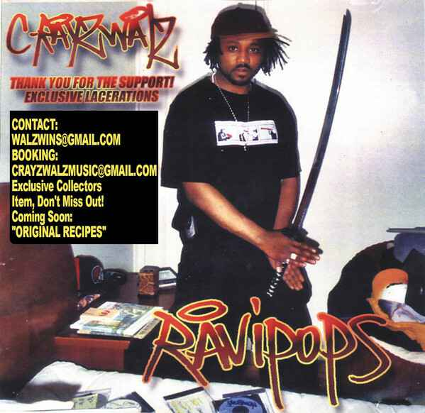 C-Rayz Walz – Off The Radar: Exclusive Lacerations CD