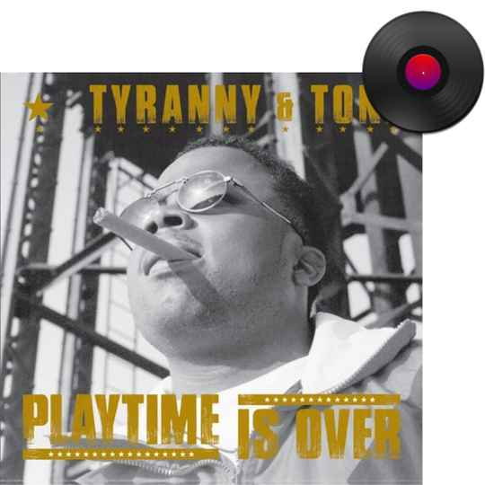 HHE005 / Tyranny & Tone - Playtime Is Over EP (Side A/Side B Effect Gold/Black Coloured Vinyl)