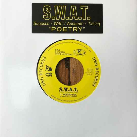 """S.W.A.T. – Poetry  7"""""""