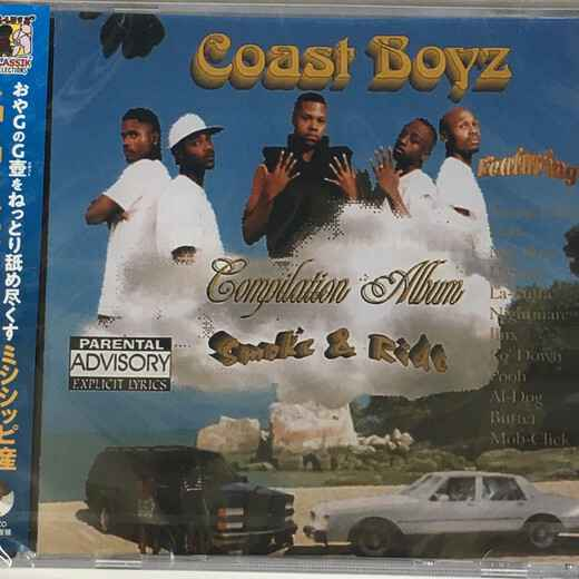 Coast Boyz - Compilation Album: Smoke & Ride CD (JPN IMPORT)