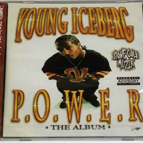 Young Iceberg ‎– P.O.W.E.R. The Album CD (JPN IMPORT)