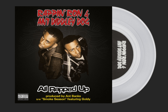 """Rappin' Ron & Ant Diddley Dog - All Rapped Up [7"""" Single]"""