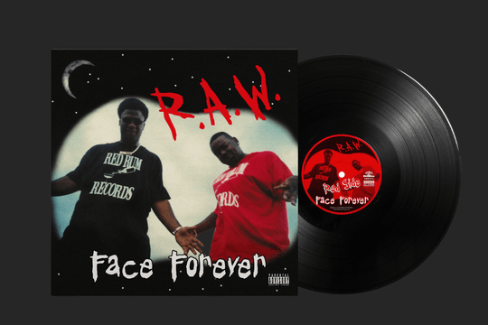 SWE011 / Face Forever - R.A.W LP (PRE-ORDER)