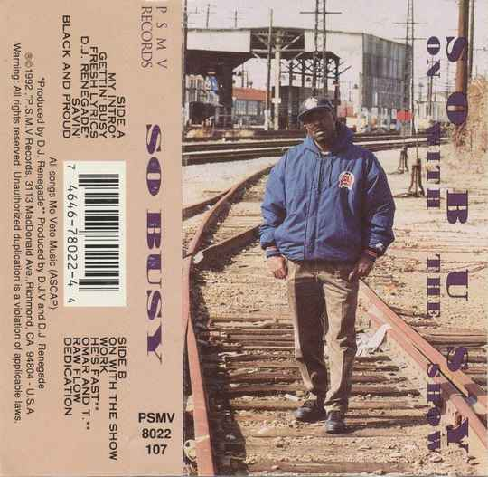 So Busy – On With The Show Cassette (OG COPIES)