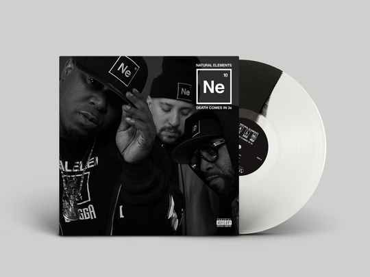 HHE037 / Natural Elements - Death Comes in 3s LP